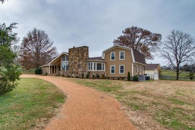 Sumner County Single Family Home For Sale: 1005 Pruitt Ln