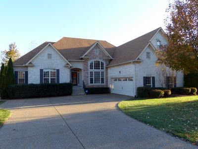 Hendersonville Single Family Home For Sale: 1009 Crimson Way