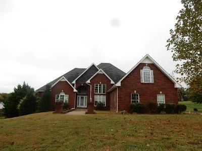 Christian County, Ky, Todd County, Ky, Montgomery County Single Family Home For Sale: 351 Ussery Rd