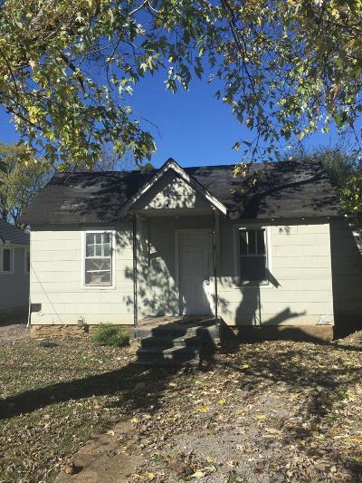 Old Hickory Single Family Home For Sale: 209 30th St
