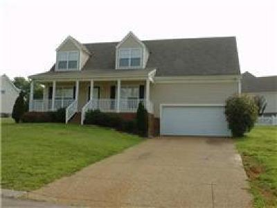 Thompsons Station  Rental Under Contract - Not Showing: 2820 Overton Drive