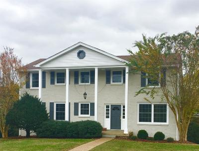 Davidson County Single Family Home For Sale: 6319 Saint Henry Dr