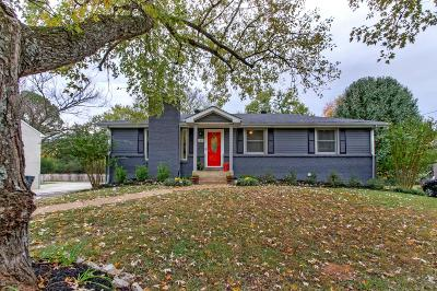 Nashville Single Family Home For Sale: 303 Wauford Dr