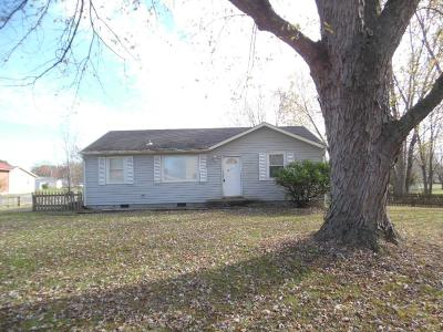 Christian County, Ky, Todd County, Ky, Montgomery County Single Family Home For Sale: 2727 Trenton Rd