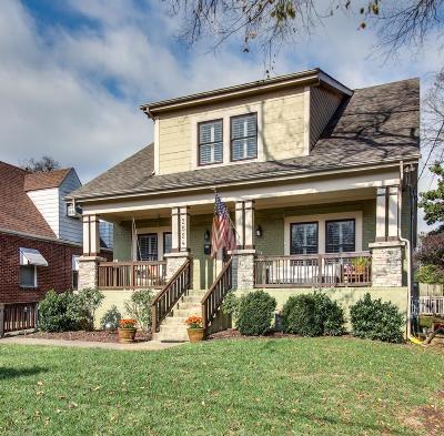 Nashville Single Family Home For Sale: 2524 Sunset Place