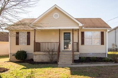 Lavergne Single Family Home For Sale: 358 Park Ct N
