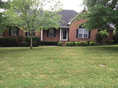 Murfreesboro Single Family Home For Sale: 406 Brentmeade Dr