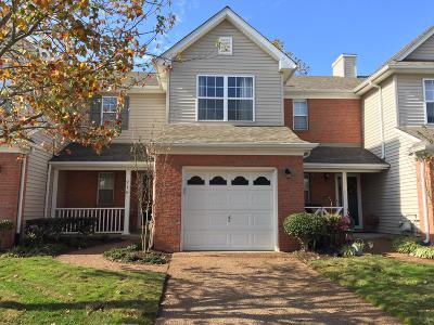 Williamson County Condo/Townhouse For Sale: 216 Stanton Hall Ln #216