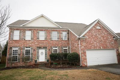 Spring Hill Single Family Home For Sale: 1007 Countess Ln