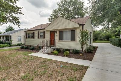 Williamson County Single Family Home For Sale: 318 Meadowlawn Dr