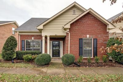 Nashville Condo/Townhouse For Sale: 8815 Sawyer Brown Road