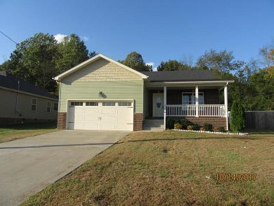 Clarksville Single Family Home Under Contract - Showing: 3463 Bradfield Dr