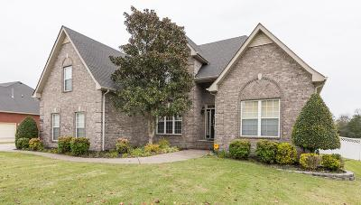 Smyrna Single Family Home For Sale: 2718 Morton Ln