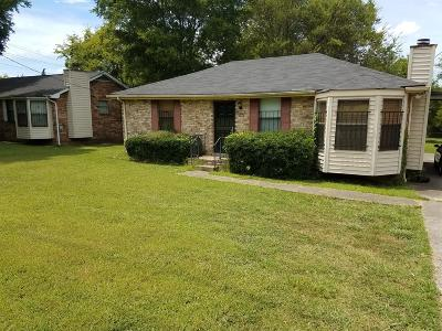 Nashville Single Family Home For Sale: 2853 Buena Vista Pike