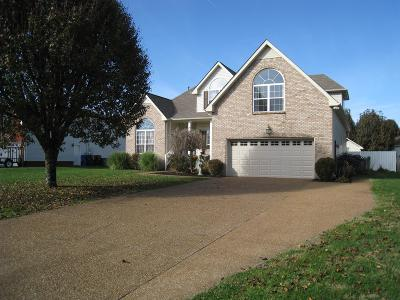 White House Single Family Home For Sale: 102 Pinewood Dr