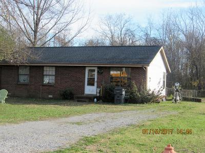 Christian County, Ky, Todd County, Ky, Montgomery County Single Family Home Under Contract - Showing: 228 State Line Rd
