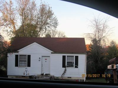 Christian County, Ky, Todd County, Ky, Montgomery County Single Family Home Under Contract - Showing: 47 Maple St