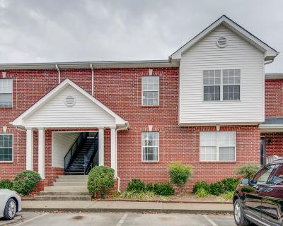 Davidson County Condo/Townhouse For Sale: 8193 Coley Davis Rd