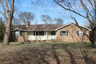 Single Family Home For Sale: 1103 Lick Creek Rd
