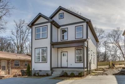 Nashville Single Family Home For Sale: 6377 Ivy St