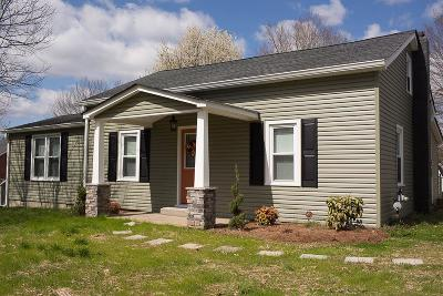 Pleasant View TN Single Family Home For Sale: $203,500
