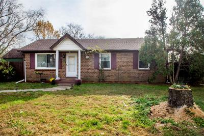 Clarksville TN Single Family Home For Sale: $95,000