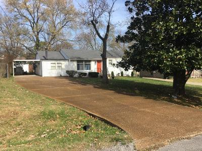 Nashville Single Family Home For Sale: 2830 Twin Lawn Dr