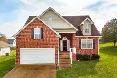 Spring Hill Single Family Home For Sale: 3011 Baker Way