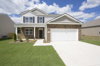 Clarksville TN Single Family Home For Sale: $248,740