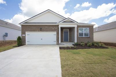 Clarksville TN Single Family Home For Sale: $211,740