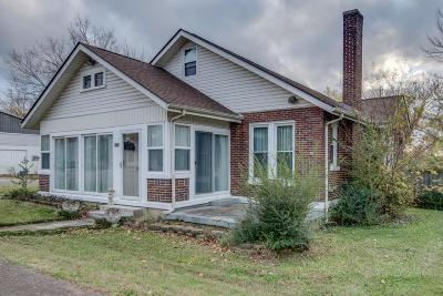 Dickson Single Family Home For Sale: 408 College