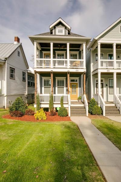 Nashville Single Family Home For Sale: 926 B Acklen Ave