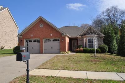 Lebanon Single Family Home For Sale: 336 Meandering Dr