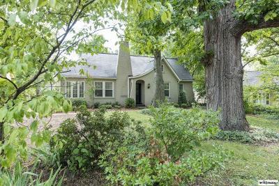 Nashville Single Family Home For Sale: 1705 Green Hills Dr