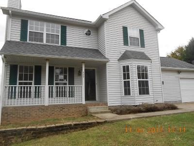 Christian County, Ky, Todd County, Ky, Montgomery County Single Family Home For Sale: 829 Smith Branch Rd