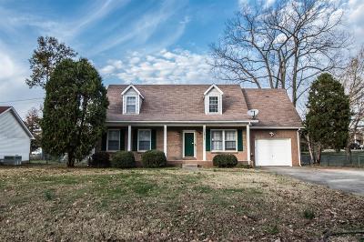 Clarksville Rental For Rent: 1813 Bourne Circle