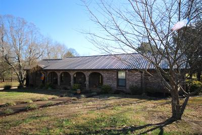 Springfield Single Family Home Under Contract - Showing: 2535 Ewell Elliott Rd