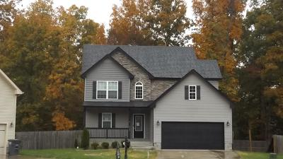Christian County, Ky, Todd County, Ky, Montgomery County Single Family Home For Sale: 3727 Crisscross Ct
