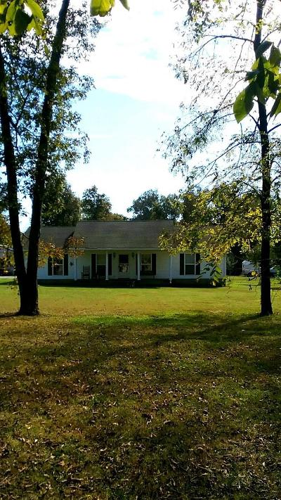 Lewisburg Single Family Home For Sale: 1761 Wade Brown Rd