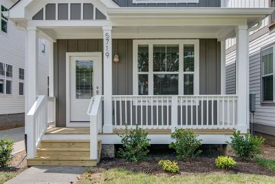 Nashville Single Family Home For Sale: 553 A Moore Ave
