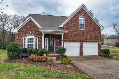 Spring Hill Single Family Home For Sale: 3000 Gale Ct