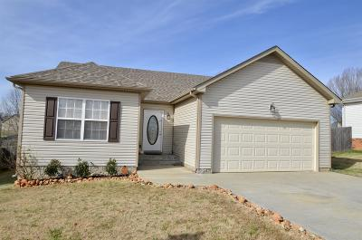 Clarksville Single Family Home For Sale: 1392 Shady Hill Ct