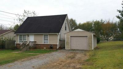 Christian County, Ky, Todd County, Ky, Montgomery County Single Family Home For Sale: 602 Granger Ln