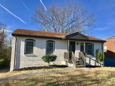 Davidson County Single Family Home For Sale: 3341 Hospital Ln
