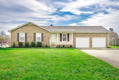 Christian County, Ky, Todd County, Ky, Montgomery County Single Family Home For Sale: 1762 Crestview Dr
