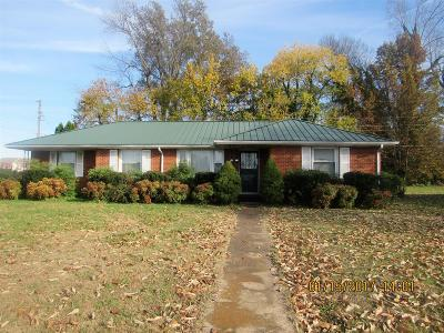 Christian County, Ky, Todd County, Ky, Montgomery County Single Family Home For Sale: 3421 Durrett Dr.