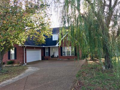 Sumner County Single Family Home For Sale: 442 Buffalo Rdg