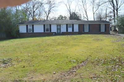 Christian County, Ky, Todd County, Ky, Montgomery County Single Family Home For Sale: 642 Bunker Hill Rd