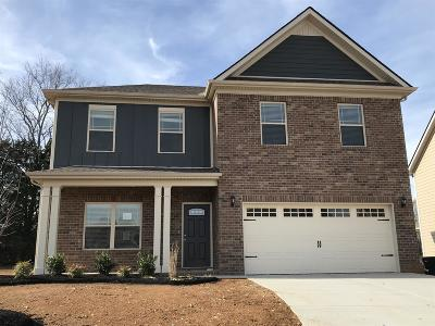 Rutherford County Single Family Home For Sale: 1122 Cotillion Drive (Lot 484)