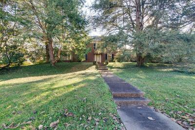 Nashville Single Family Home For Sale: 2400 Sterling Rd